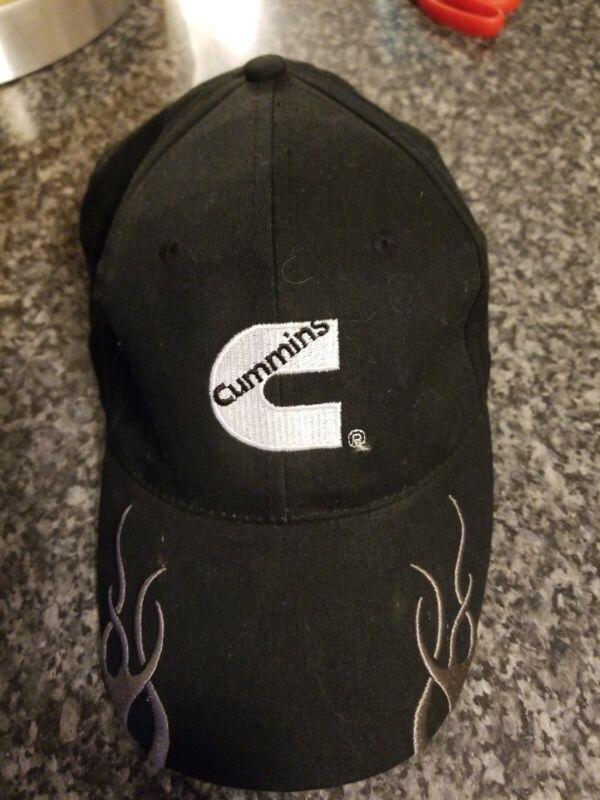 Vintage Cummins Diesel Truckers Black  Cap adjustable hat