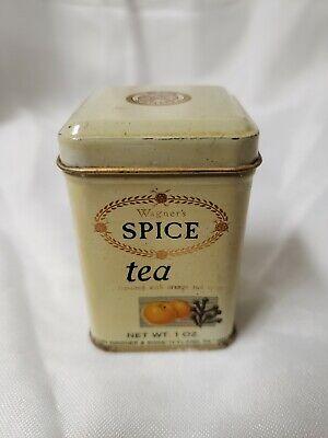 VINTAGE TIN WAGNER'S SPICE TEA 1 OUNCE JOHN WAGNER & SONS  for sale  Highland