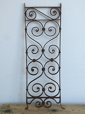 T9755 Window Bars ~ Balkongitter~Trellis~Art Nouveau Fence Element Grid