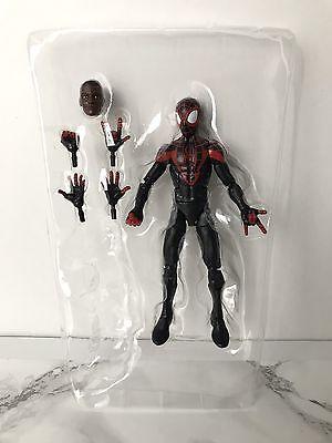 Marvel Legends  Miles Morales Spider Man   Space Venom Wave   No Baf   New