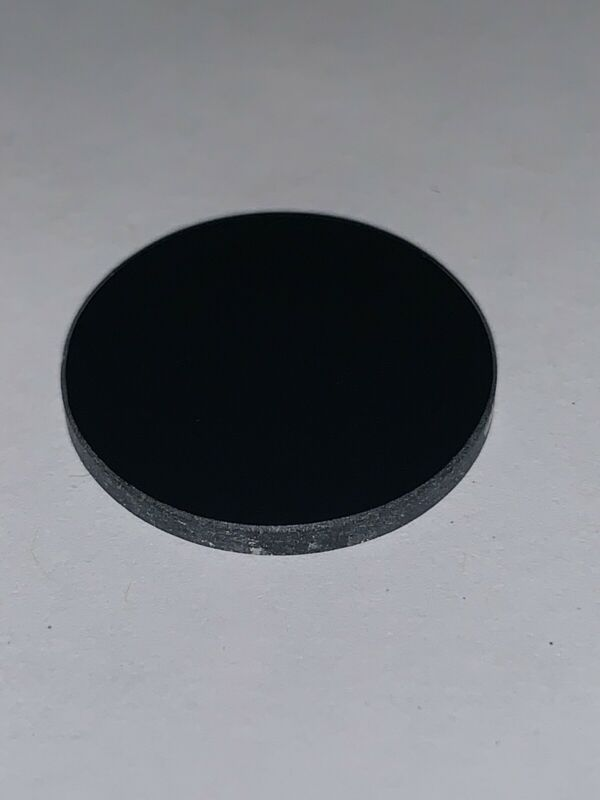 20.5mm x 2mm UV-Pass Filter for 365nm Convoy S2+ flashlight Yooperlite SODALITE