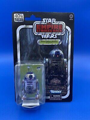 Star Wars Artoo-detoo R2-D2 Dagobah 40th Anniversary Black Series