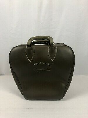 Vintage Colonial Bowling Bag Wire Rack Olive Green
