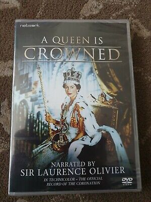 A QUEEN IS CROWNED DVD NARRATED BY SIR LAURENCE OLIVIER SEALED
