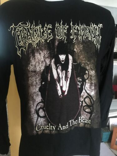 Cradle of filth Cruelty and the beast Long sleeve shirt new size M