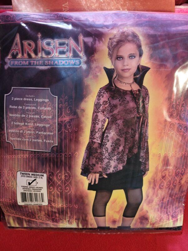 Vampira Halloween Costume Size Teen 2-4