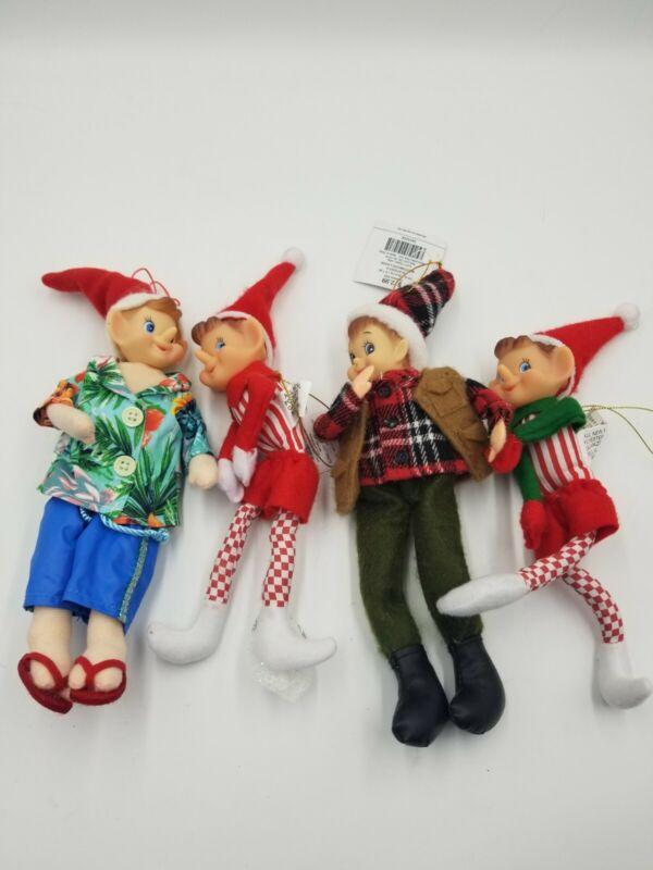 Christmas Elves From Hobby Lobby Set Of 4
