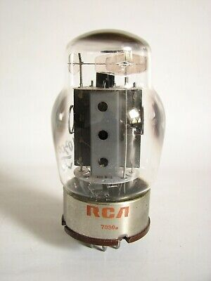 1 Tung-Sol (RCA) 6550 Power Amp. Tubes (3 Holes Plate) - Hickok 539B tested