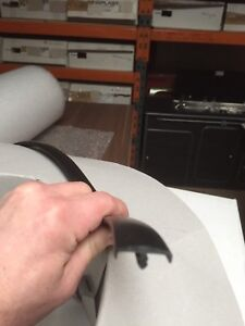 18mm BLACK T TRIM 10 METRE DOUBLE LIPPED FURNITURE KNOCK ON EDGING  VW CAMPER