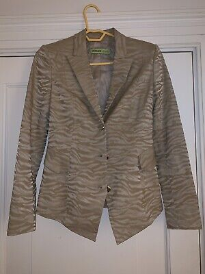 Versace jeans Animal Pattern Tailored Jacket S/m