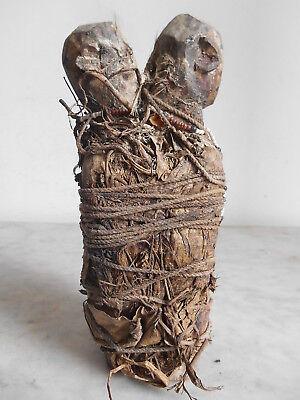 Fetish Couple Ewé 21cm Art Ethnic Tribale Primitive