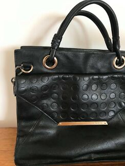 Black Mimco Handbag