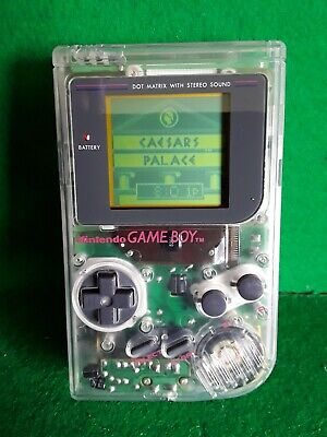 Nintendo Original Game Boy Clear