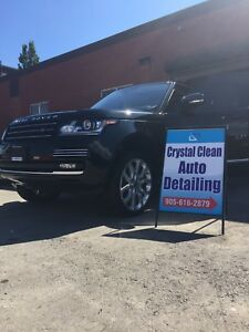 Crystal Clean Auto Detailing- 905-616-2879