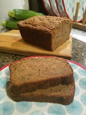 Gluten Free Zucchini Bread - Lactose - Lactose Free Snacks