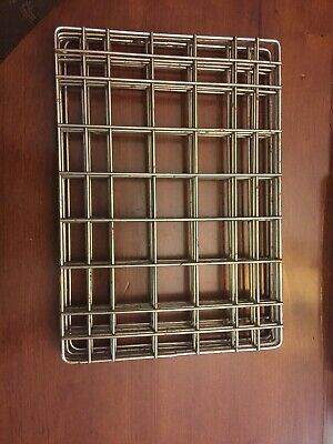 Restaurant Supplies Used Half Size Pan Wire Rack Inserts 10 Long X 7 Wide Qty5