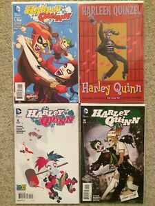Harley Quinn New 52 Rebirth Variant Covers NM VF downtown