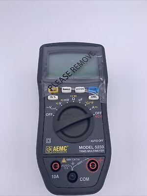 Aemc Instruments Model 5233 Trms Multimeter