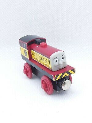 THOMAS THE TRAIN WOODEN RAILWAY DART WOOD TRAIN ENGINE CAR