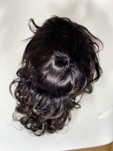 Letisha Fever Dark Brown Curly Layered Medium Long Microacrylic Synthetic Wig - $20.00