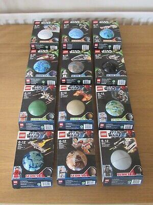 Lego Star Wars Planets Complete Set - Series 1 - 4 - Free Delivery