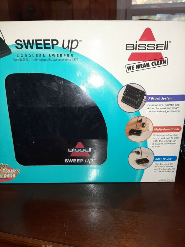 Bissell Sweep Cordless Sweeper # 21013 NIB