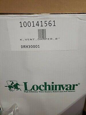 Lochinvar Drh30001 Kit Vent Damper 8 New