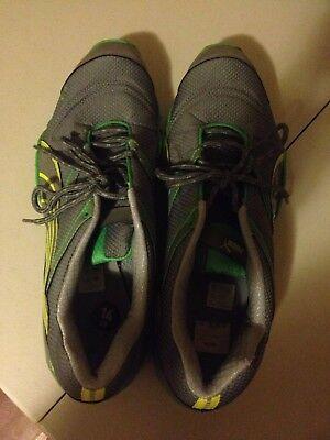 Puma tr Sierra tracker Green Yellow Gray men's shoes Size 14 Free Shipping