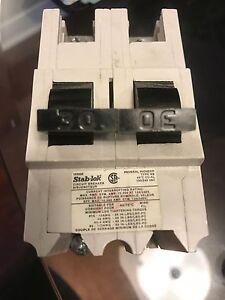 Disjoncteur, breaker, 30 AMP et 15 AMP