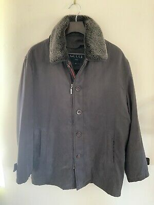 Vintage Gucci Men's Coat  Made In Italy Size XL Authentic Pre-owned