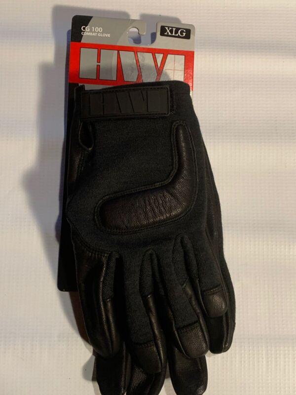 HWI CG100 Combat Gloves, Black, XL