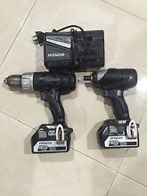 Hitachi cordless drill and rattle gun Aubin Grove Cockburn Area Preview