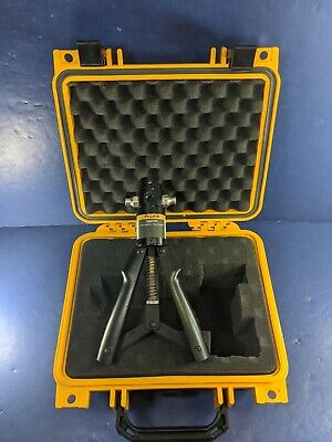 Fluke 700 Ptp1 Pneumatic Test Pump Very Good Condition Hard Case
