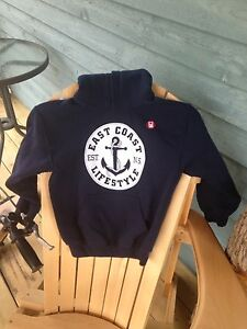 East coast lifestyle youth hoodie M
