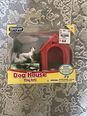 NEW! BREYER DOG HOUSE PLAY SET * MADISON THE JACK RUSSELL & 6 FUN ACCESSORIES!