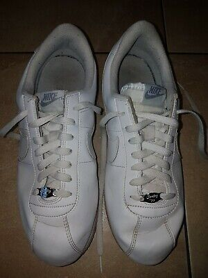 Mens NIKE CORTEZ 72 white lace up trainers size 8 UK
