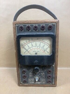 Emc Model 101b Volt Ohm Meter - Electronic Measurements Corporation - Untested