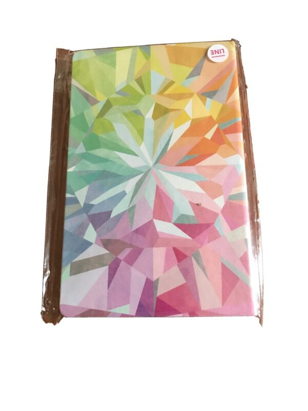 Erin Condren Kaleidoscope Colorful Soft Bound Notebook Lined On the Go Take Note