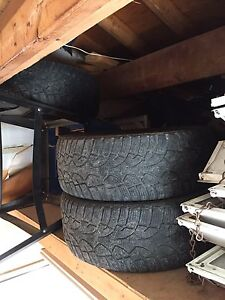 4 tires for sale 205 55 r 16 30$... cooper brand