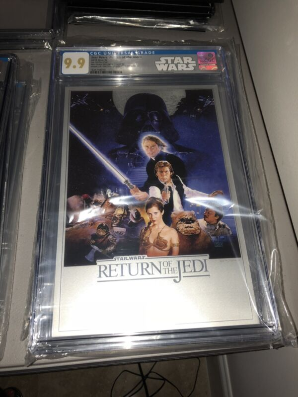 2018 35g Silver $2 Star Wars Return of the Jedi Foil CGC 9.9 MINT COLLECTABLE