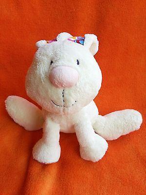 Jellycat Jelly Kitten Rabbit Soft Toy Cuddly Plush Cream Pink Musical J788