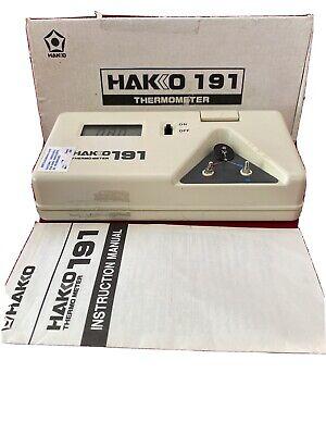 Solder Tip Thermometer Hakko 191 Thermocouple Type K 191b