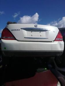 NOW WREAKING NISSAN MAXIMA WHITE COLOR ALL PARTS 2004 Dandenong South Greater Dandenong Preview