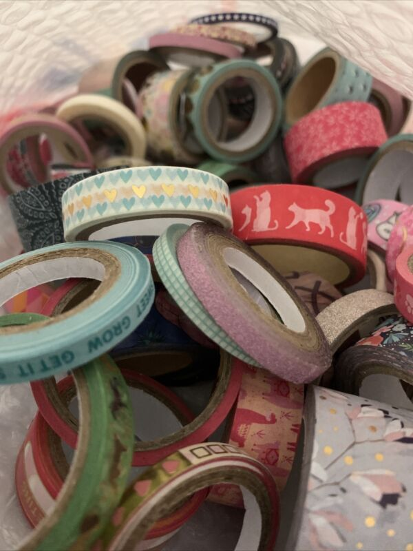 Assorted Size 68-pc Washi Mystery Bag