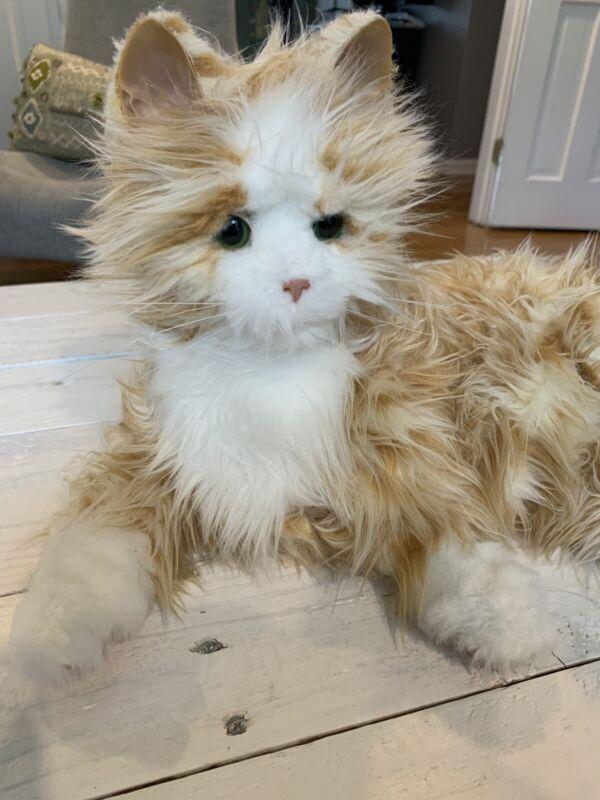 Hasbro Joy For All B7592 Orange Tabby Cat Companion Pet