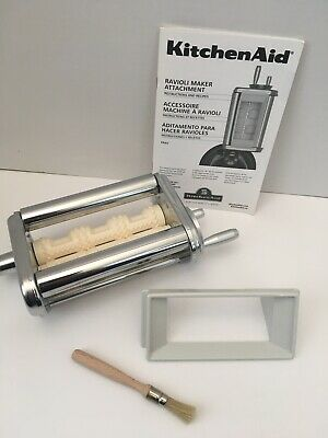 Genuine KitchenAid KRAV Stand Mixer Ravioli Maker Attachment Made in Italy