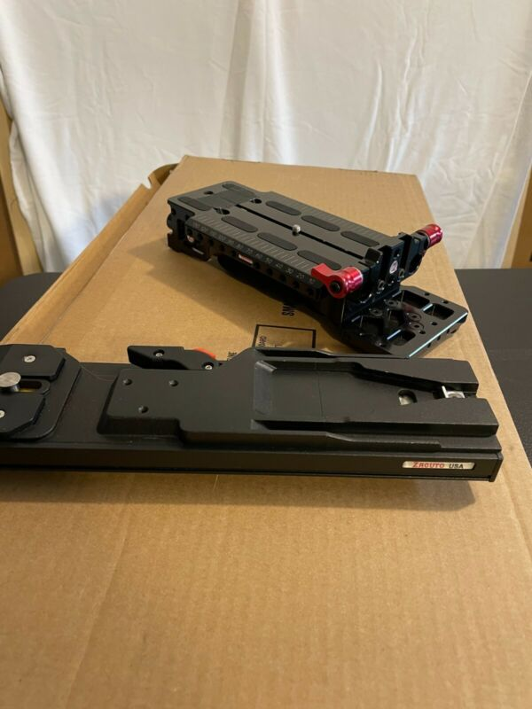 Zacuto VCT Universal Baseplate/Plate with 40mm of Vertical Adjustment A++++