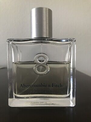 Abercrombie & Fitch Womens 8 Perfume 3.4 oz / 100 mL Vintage Bottle LARGE SIZE
