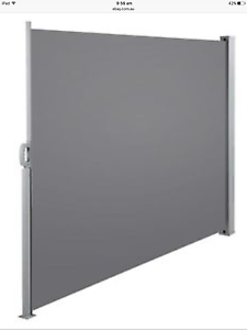 Retractable Side Awning Shade 180cm High - Grey Woonona Wollongong Area Preview