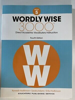 WORLDLY WISE 3000 Grade 5 Student. Vocabulary Instruction. 4th Ed. NEW